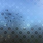 Frostat mönstrat glas